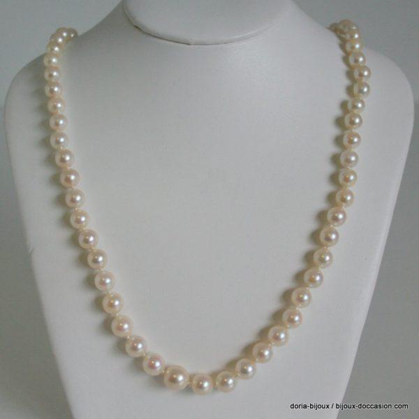 Collier De 61 Perle Akoya