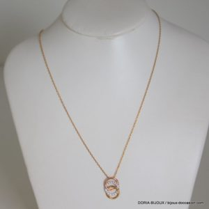 Collier Or 9k 375/000 Oxyde - 1.65grs- 42cm