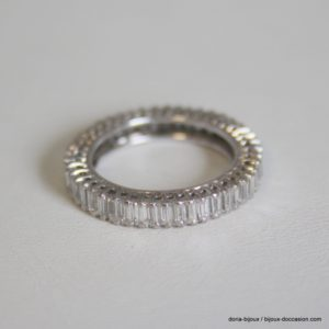 Bague Or 18k, 750/000 Multi Diamants 2.07cts 3.3grs