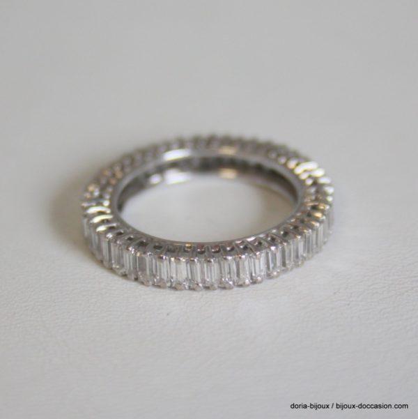 Bague Or 18k, 750/000 Multi Diamants 2.07cts 3.3grs