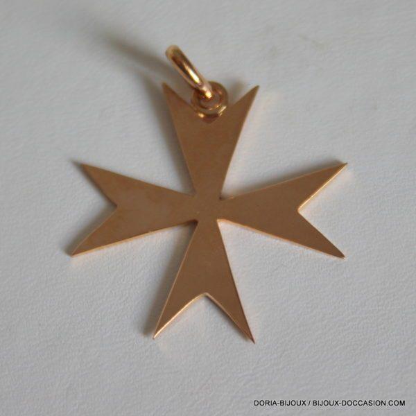 Pendentif Or Jaune 18k 750 Croix 4.4 Grs - Bijoux d' Occasion -