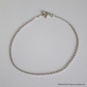 Bracelet Or 750 18k Maille Fantaisie 18cm- 1.5grs