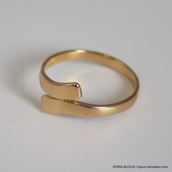 Bague Or Jaune 18k 750/000 2.6grs - 58