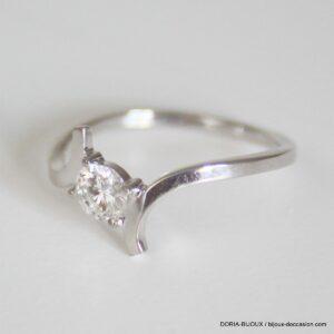 Bague Or 18k, 750 Solitaire Diamant 0.30carats -53