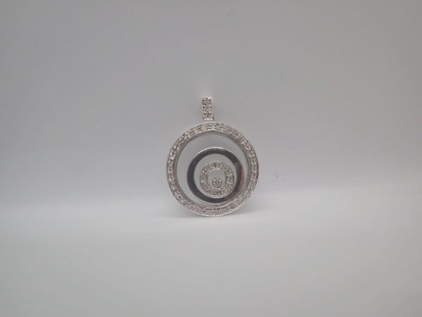 Pendentif Diamants .26CT