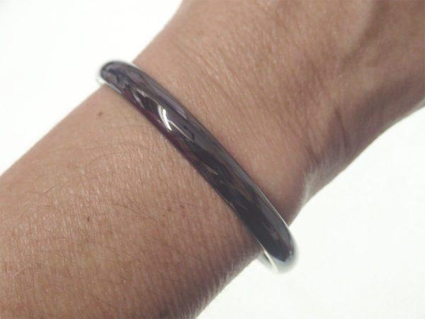Bracelet d' occasion GUY LAROCHE céramique noire