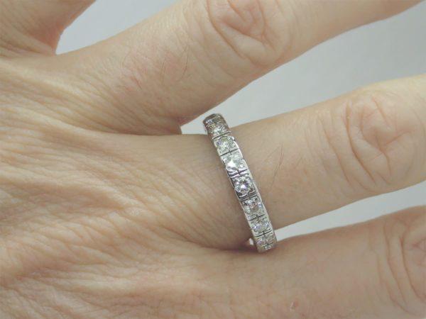 Alliance Tour Complet Platine Diamants