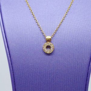 Collier d'occasion en or jaune 18k, 750/000