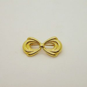 Broche d' occasion en or jaune 18k 750/000