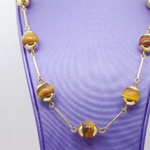 Collier d' occasion en or jaune 18k