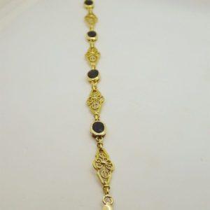 Bracelet d 'occasion en or jaune 18k