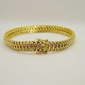 Bracelet d' occasion en or jaune 18k