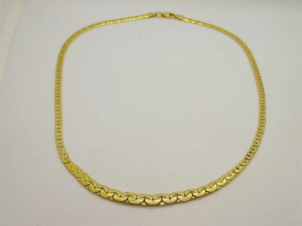 Collier d' ocacsion en or jaune 18k