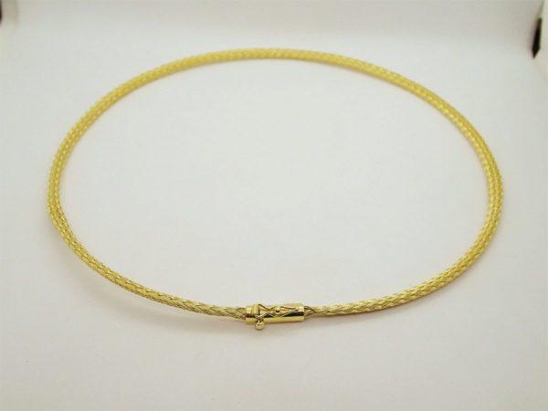 Collier d' occasion en or jaune 18k