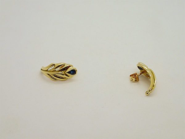 Boucles d' oreilles d' occasion en or jaune 18k