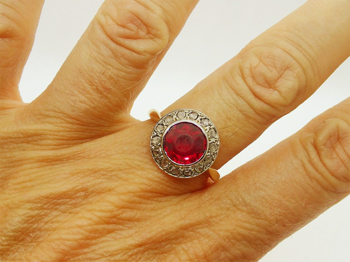 bague rubis occasion