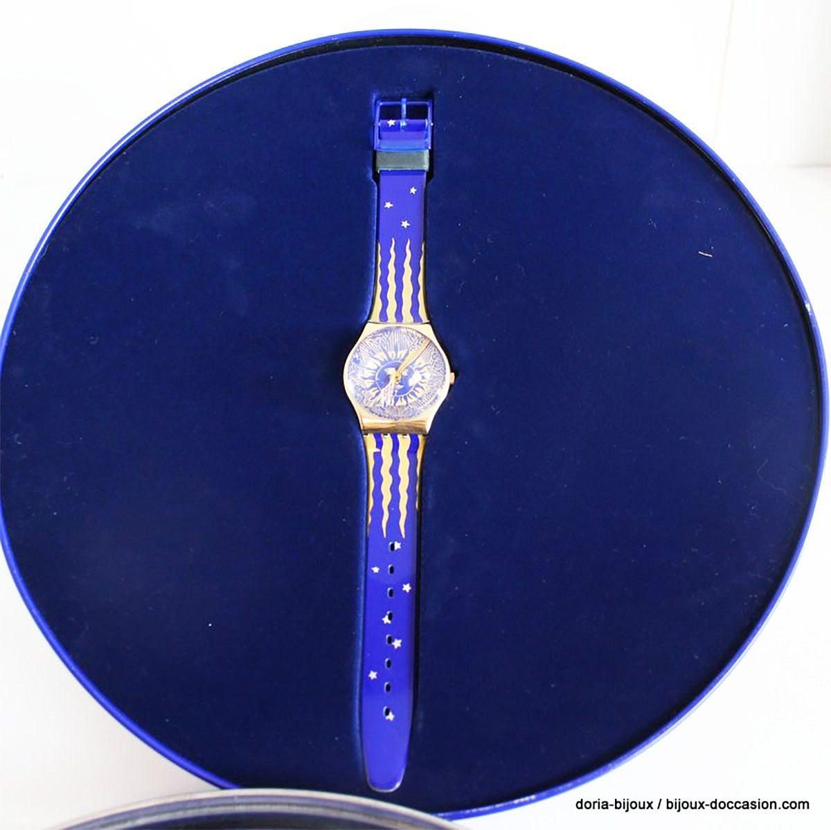 Montre Pop Swatch Gz 122 Édition Limité 1991
