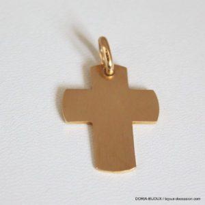Pendentif Religieux Or 18k, 750 Croix- 5.6grs