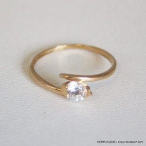 Bague Or 18k, 750 Solo Oxyde -1.4grs - 54