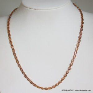 Collier Vintage Or Jaune 750 18k - 10.5 Grs