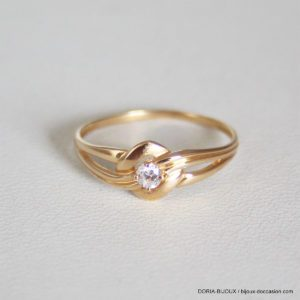 Bague Or 18k, 750 Oxydes -1.1grs - 51
