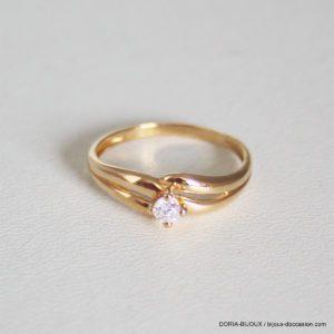 Bague Solitaire Diamant 0.10ct- 1.4grs - 49