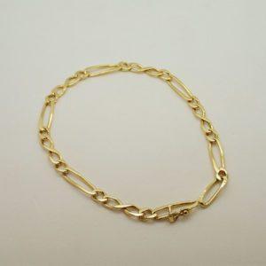 Bracelet d' occasion en or jaune 18k, 750/000