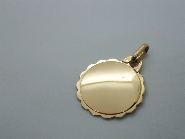 Medaille Amour or Jaune