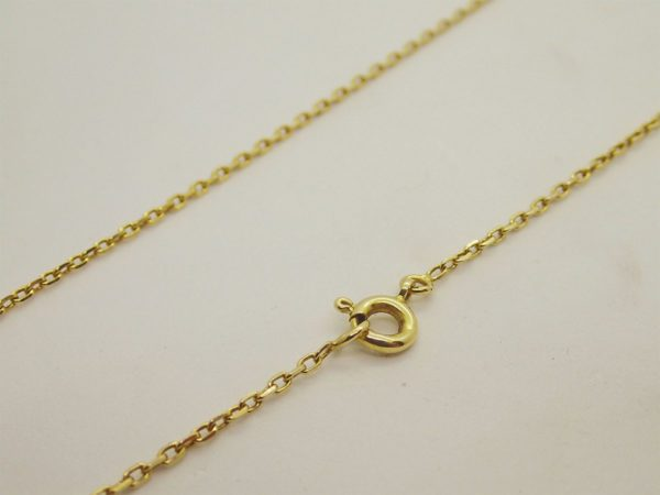 Chaine d' occasion en or jaune 18k, 750/000
