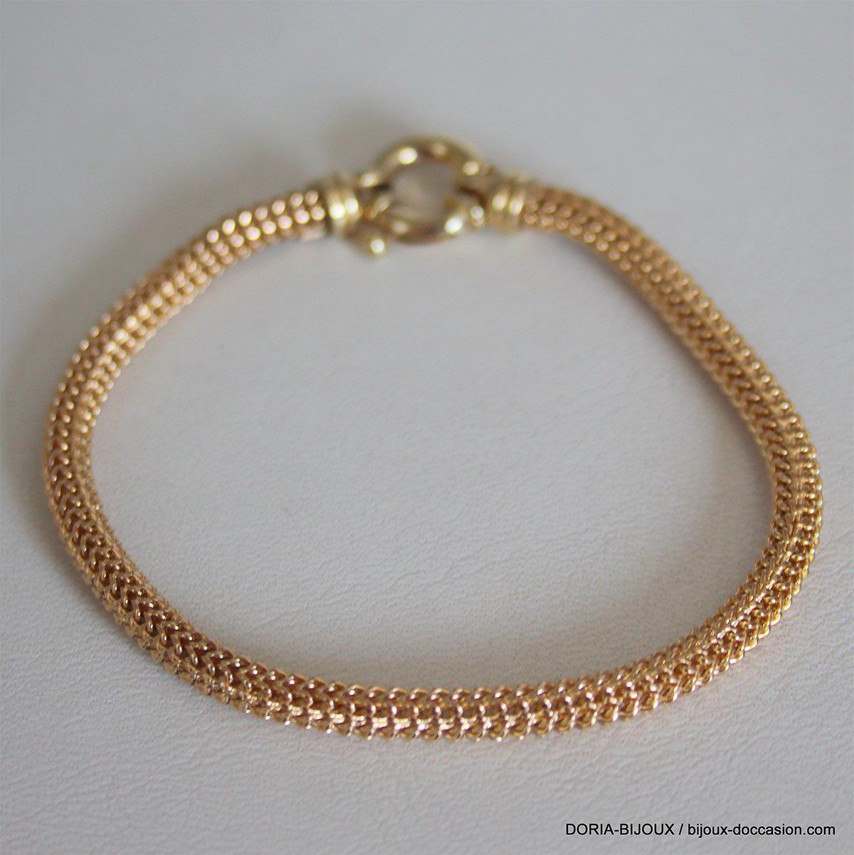 Bracelet Or 750 18k Vintage  - 6grs