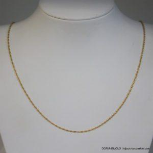 Chaine Or 750 - 18k Maille Fantaisie 44cm - 1.7grs -
