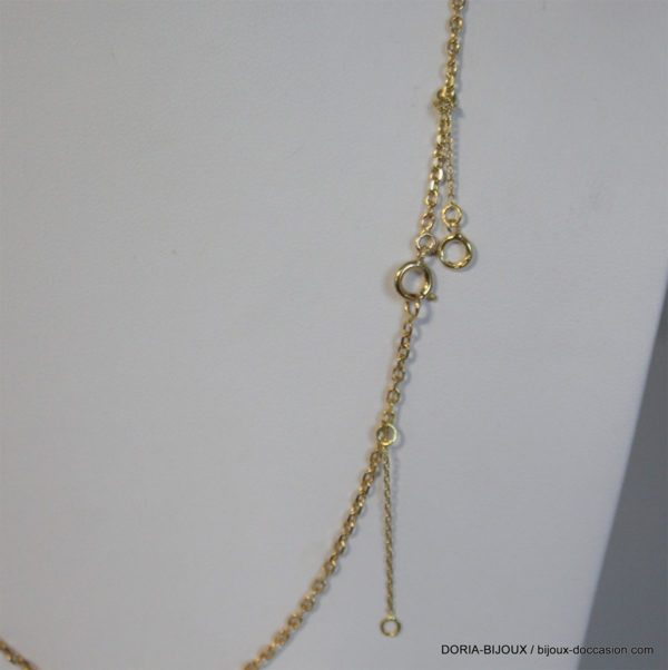 Chaine Maille Forçat Or 18k 750 - 46cm - 6grs