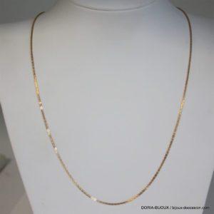 Chaine Or 750 - 18k Maille Fantaisie 52cm - 5grs -