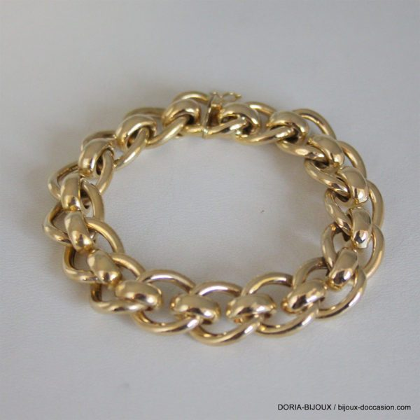 Bracelet Maille Fantaisie Or 18k 750  -23.10grs