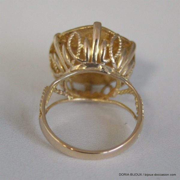 Bague Or 18k Piece Union Latine 5.7grs - 62