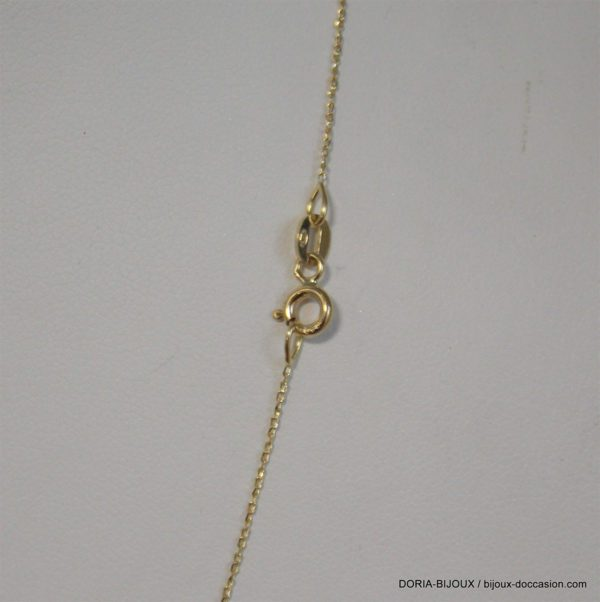 Chaine Maille Forçat Or 18k 750 - 46cm - 0.8grs