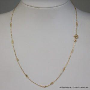 Chaine Or 750 - 18k Maille Fantaisie 40cm - 2.2grs -