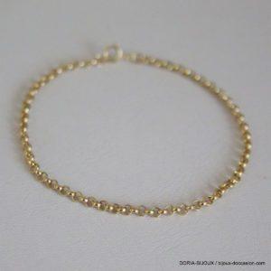 Bracelet Or 18k 750  0.6grs