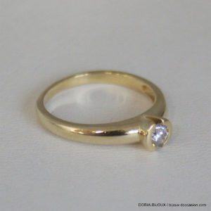 Bague Or 18k Solitaire Diamant 0.50 Carats - 3.7grs