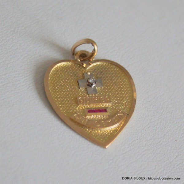 Medaille Or 18k 750  D Amour