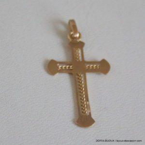 Pendentif Religieux Croix Or 750/000 18k - 1grs