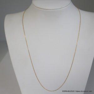 Chaine Maille Forçat Or 18k 750 - 48cm - 1.7grs