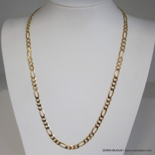 Chaine Or Maille Alternee 18k 750 -24.85GRS