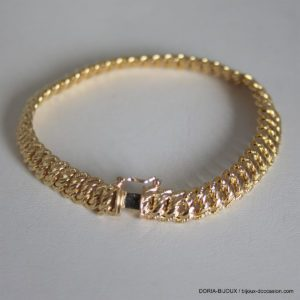 Bracelet Or 18k 750 Maille Américaine - 10.5grs
