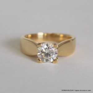 Bague Or 18k Solitaire Diamant 1.05 Carats - 8.1grs
