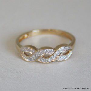 Bague Or Taille 52 Poids Or 1.97grs