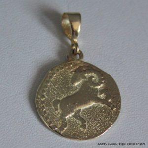 Zodiac Bélier Or 14 Carat 585/000 4.91 Grs