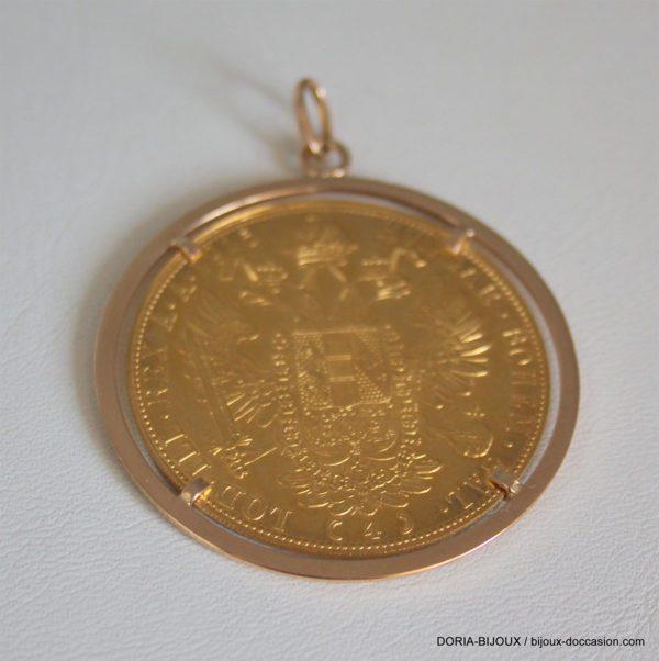 Pendentif Porte Piece Or 18k 750/000 18.67 Grs