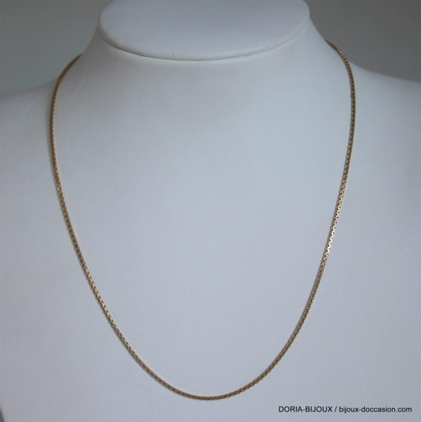 Chaine Or 14 Carat 585/000 3.89 Grs