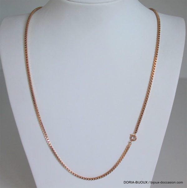 Chaine Or 18lk 750/000 21.23 Grs Maille Venissienne